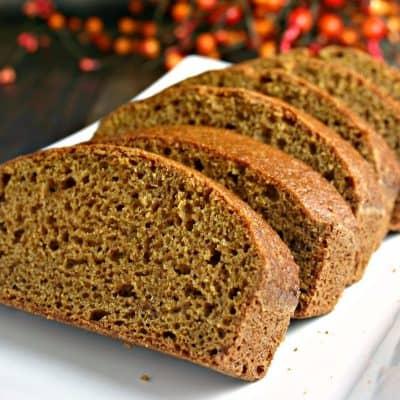 UT's Pumpkin Bread