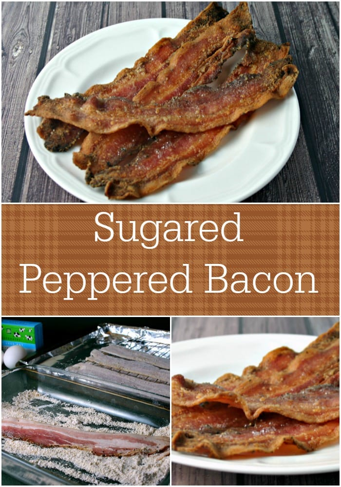 Sugared Peppered Bacon   Life, Love, and Good Food