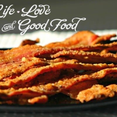 Sugared Peppered Bacon