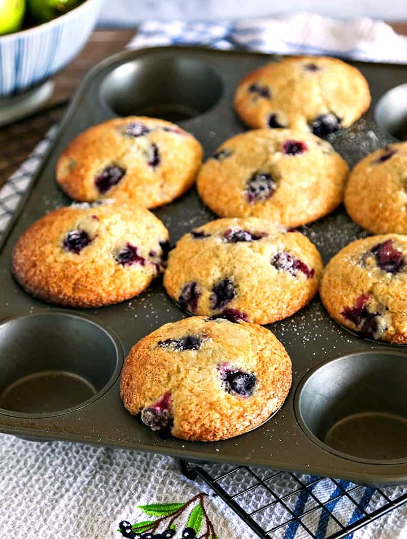 Easy Blueberry Muffins   Life, Love, and Good Food