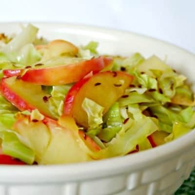 Sautéed Cabbage and Apples