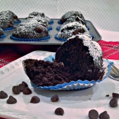 Triple-Chocolate Muffins