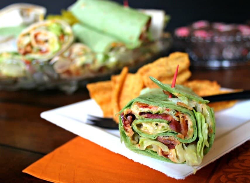 BLT Wraps | Life, Love, and Good Food