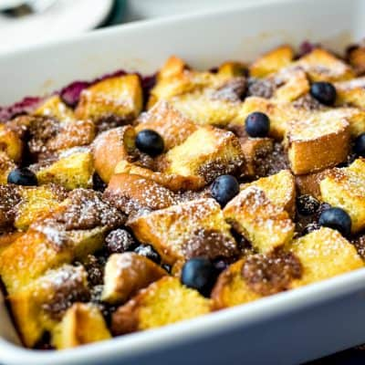 Bed & Breakfast Blueberry Strata