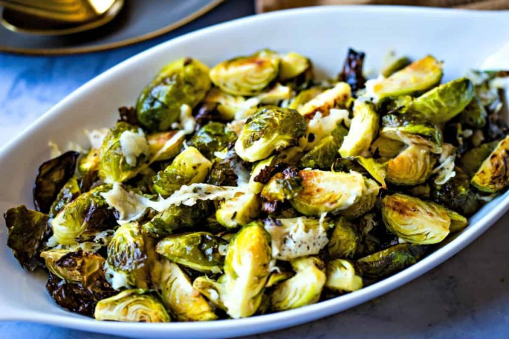 Brussels Sprouts with Asiago | Life, Love, and Good Food