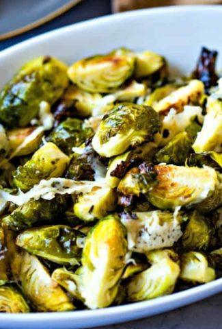 Brussels Sprouts with Asiago   Life, Love, and Good Food