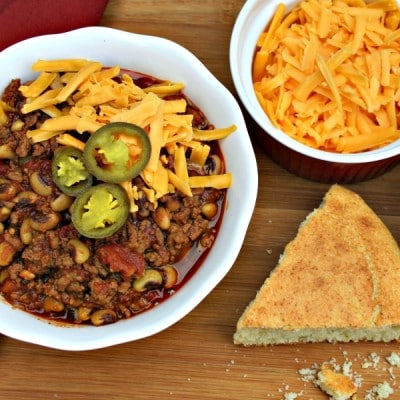 Beefy Black-Eyed Pea Chili