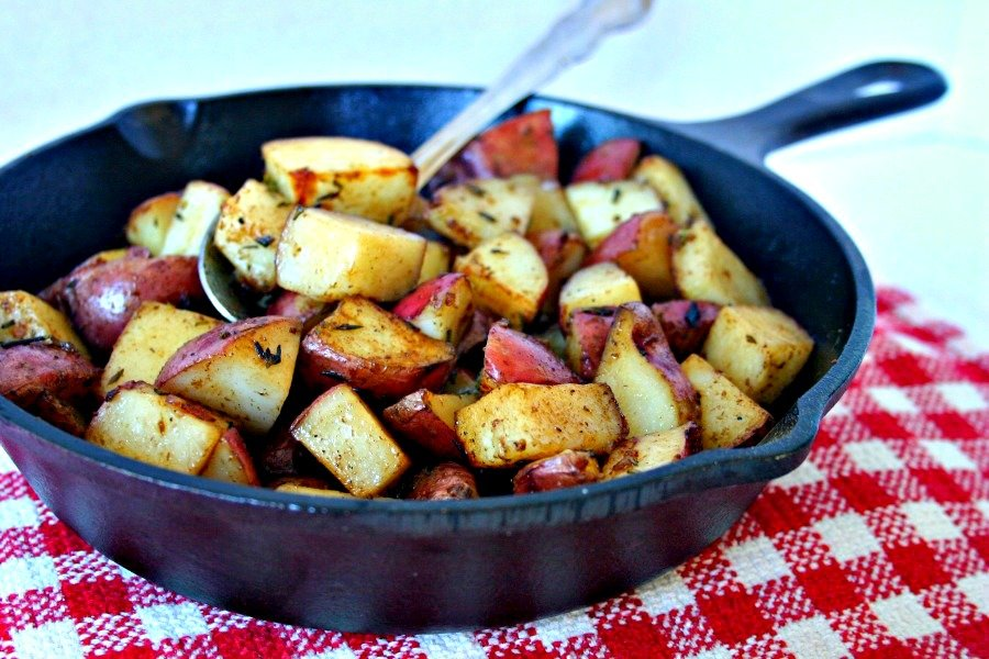 Balsamic Roasted Red Potatoes Life Love And Good Food