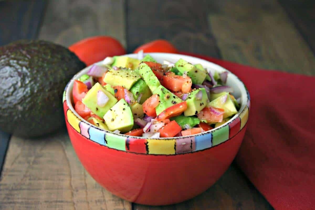 Avocado Salsa   Life, Love, and Good Food