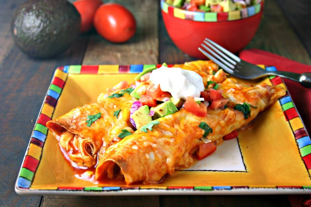 Cheesy Chicken Enchiladas | Life, Love, and Good Food