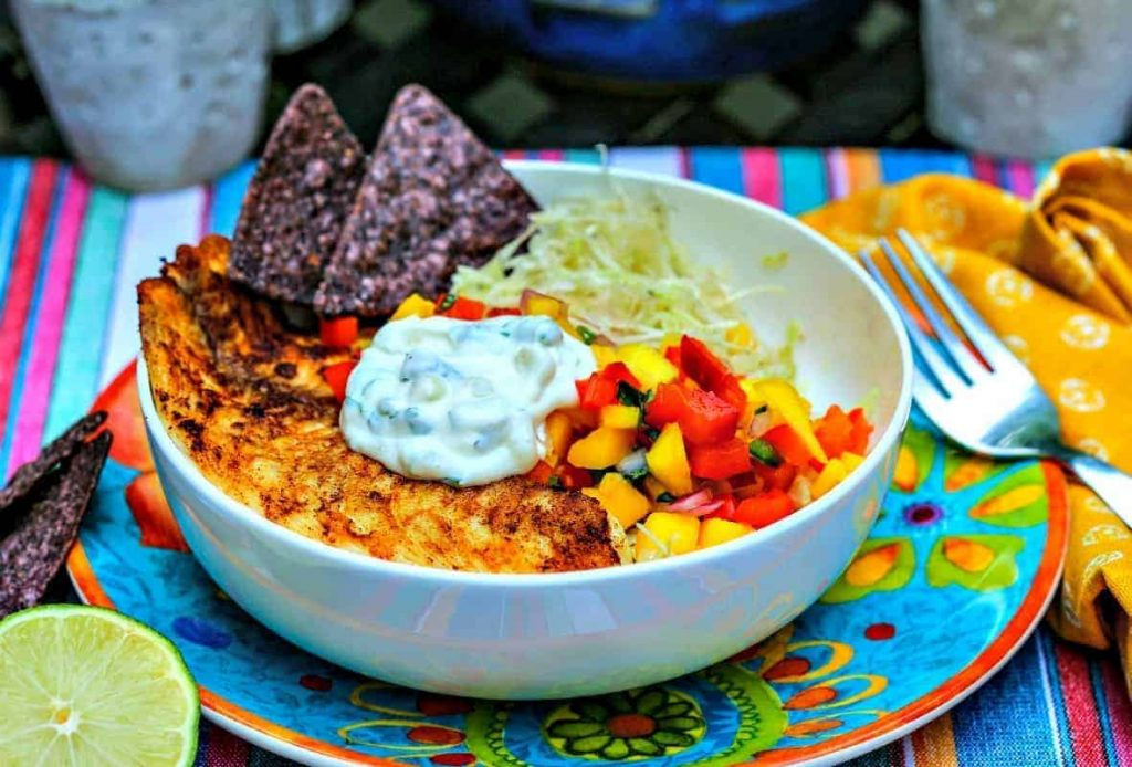Fish Taco Bowl | Life, Love, and Good Food