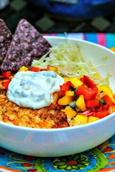 Fish Taco Bowl | Life, Love, and Good Food