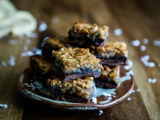 German Chocolate-Pecan Pie Bars