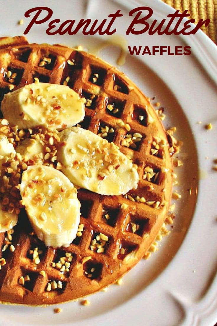 Peanut Butter Waffles | Life, Love, and Good Food