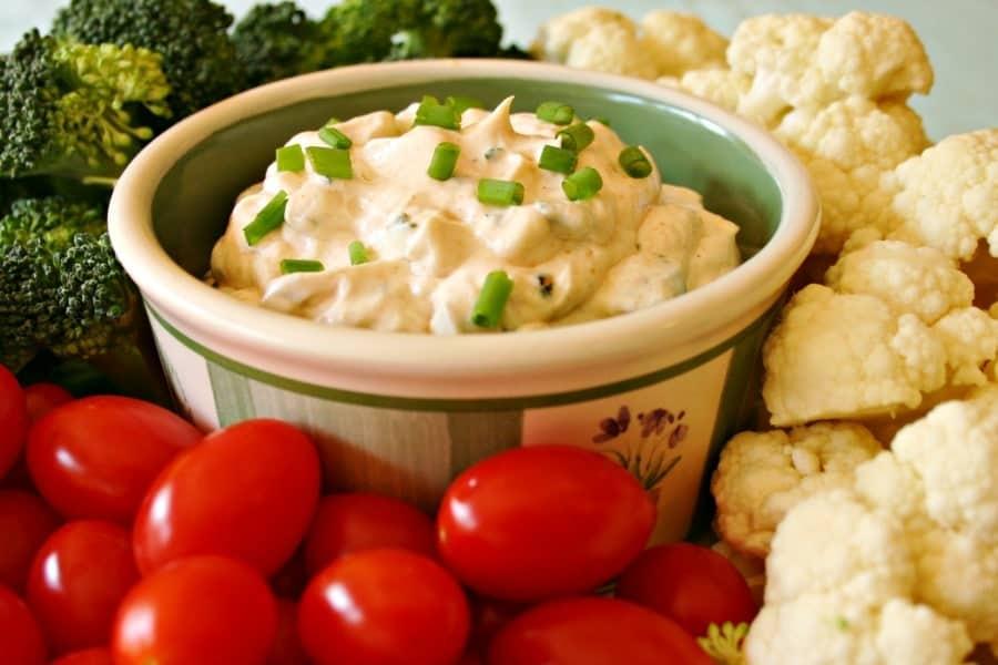 Vegetable Dip | Life, Love, and Good Food