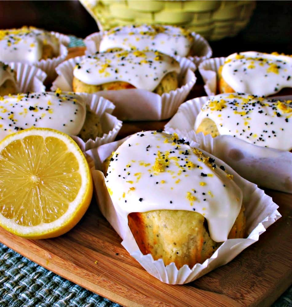 Meyer Lemon Mini Pound Cakes