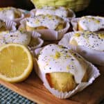 Meyer Lemon Mini Pound Cakes