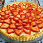 Strawberry Nutella Cream Tart