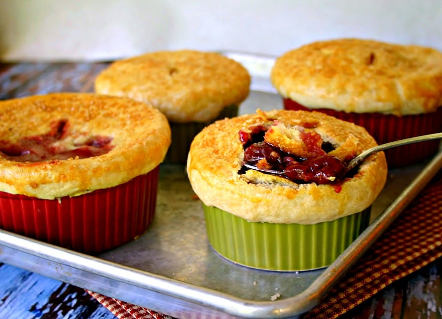 Cherry Potpies - Life, Love, and Good Food