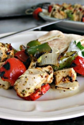 Greek Chicken Kabobs with Cucumber Sauce | Life, Love, and Good Food
