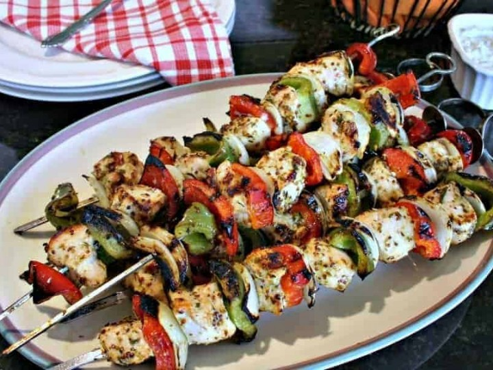 Greek Chicken Kabobs