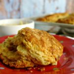 Bacon-Scallion Biscuits with Sorghum Butter