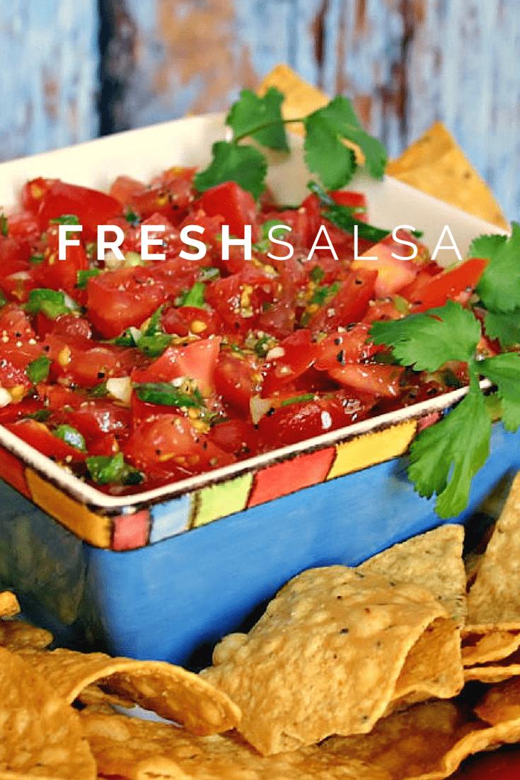 Favorite Fresh Salsa   Life, Love, and Good Food
