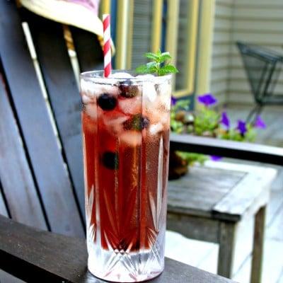 Blueberry Mint Iced Tea
