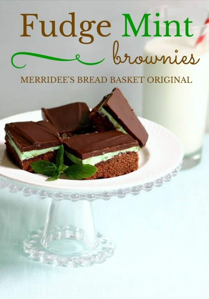 Fudge Mint Brownies | Life, Love, and Good Food