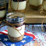 Blueberry Cheesecake in a Jar - Life, Love, and Good Food