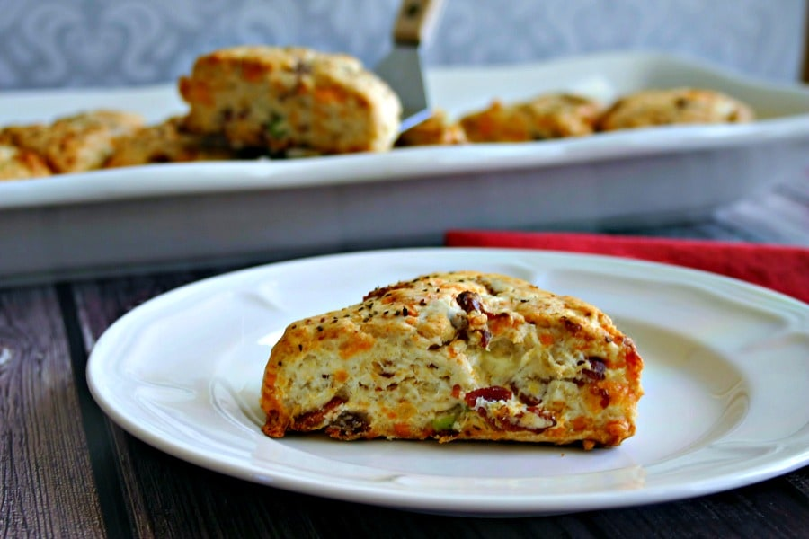Cheddar Bacon Scones - Life, Love, and Good Food
