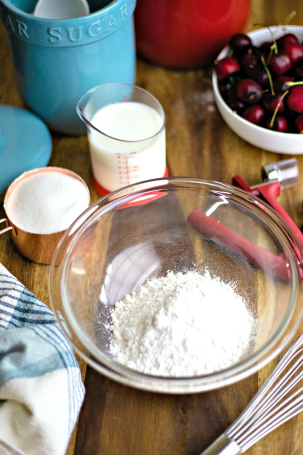 ingredients for making cobbler