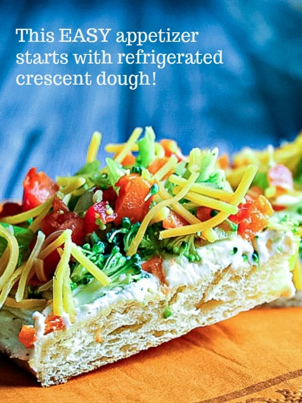 Cool Veggie Pizza Appetizer   Life, Love, and Good Food