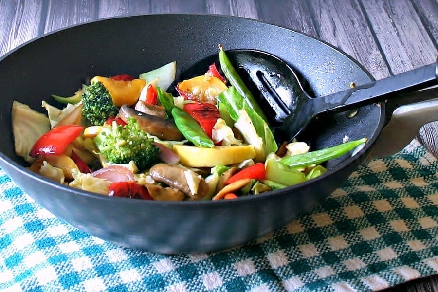 Easy Vegetable Stir Fry - Life, Love, and Good Food