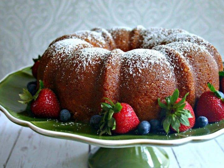 Easy Rum Orange Cake - Life, Love, and Good Food