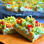 Cool Veggie Pizza Appetizer - Life, Love, and Good Food