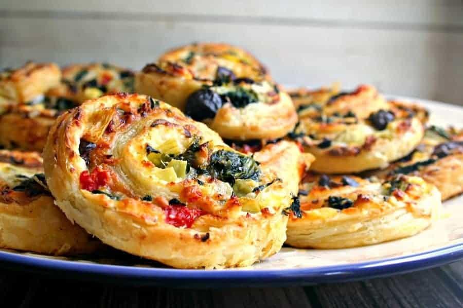 Cheesy Greek Swirls - Life, Love, and Good Food