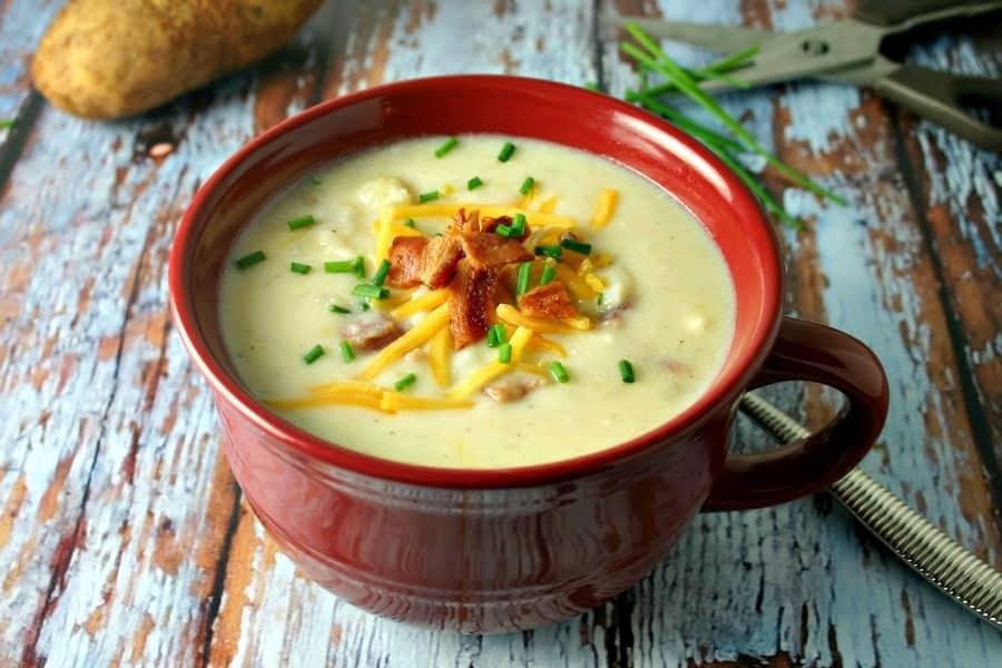Baked Potato Soup - Life, Love, and Good Food