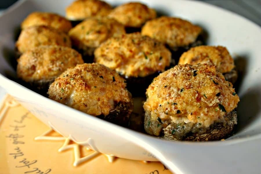 Buffalo Chicken 'Shrooms | Life, Love, and Good Food