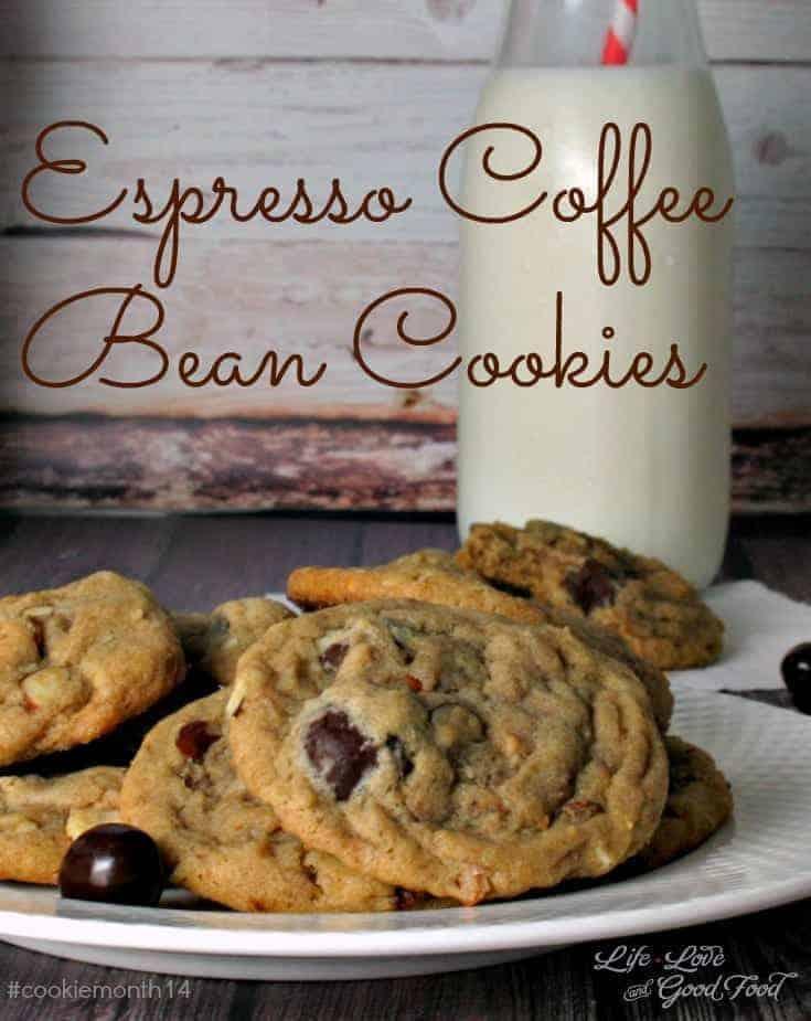 Espresso Coffee Bean Cookies | Life, Love, and Good Food
