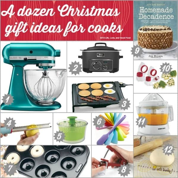 A dozen Christmas gift ideas for cooks | Life, Love, and Good Food - Christmas Gift Guide For Cooks 2014 - Life, Love, And Good Food
