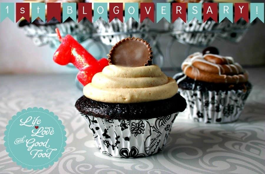 Mocha Cupcake-Blogoversary-1
