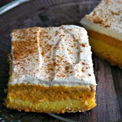 Maple-Pumpkin Pie Bars