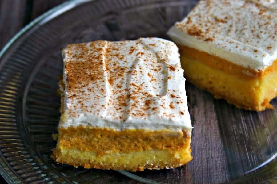 Maple-Pumpkin Pie Bars | Life, Love, and Good Food