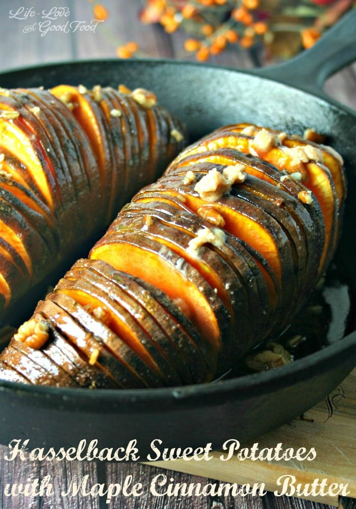Hasselback Sweet Potato   Life, Love, and Good Food