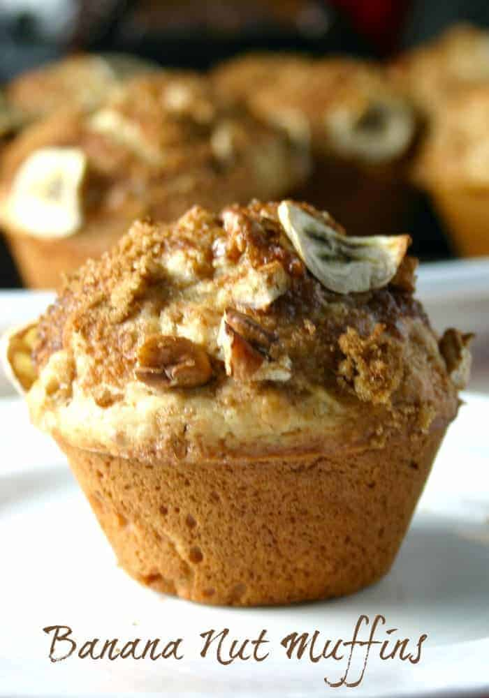 Banana Nut Muffins | Life, Love, and Good Food