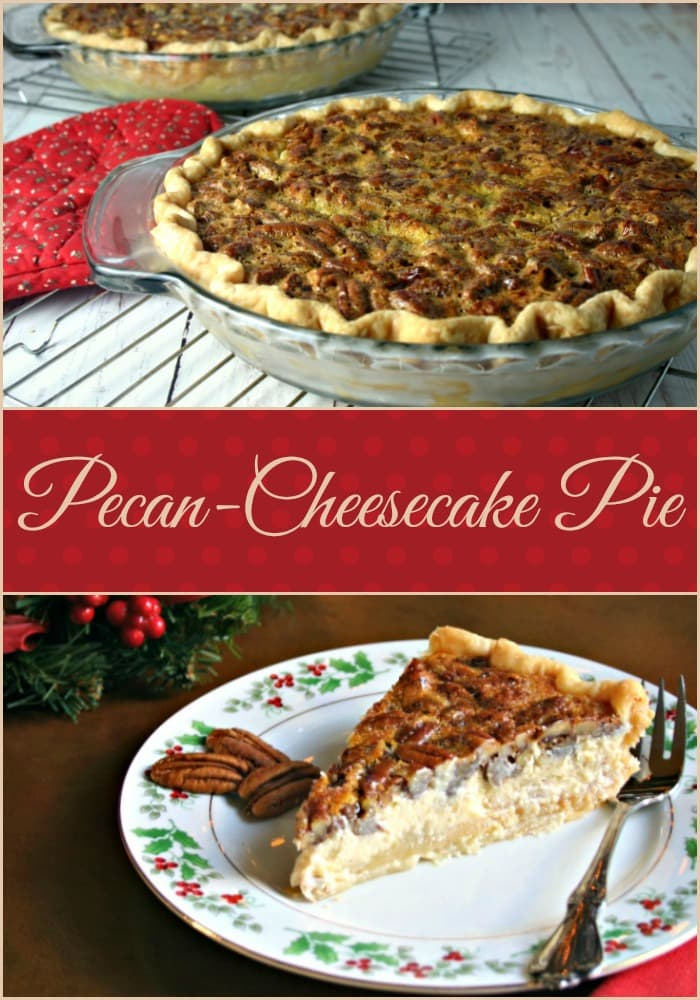 Pecan-Cheesecake Pie | Life, Love, and Good Food