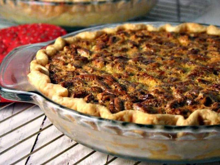 Pecan-Cheesecake Pie