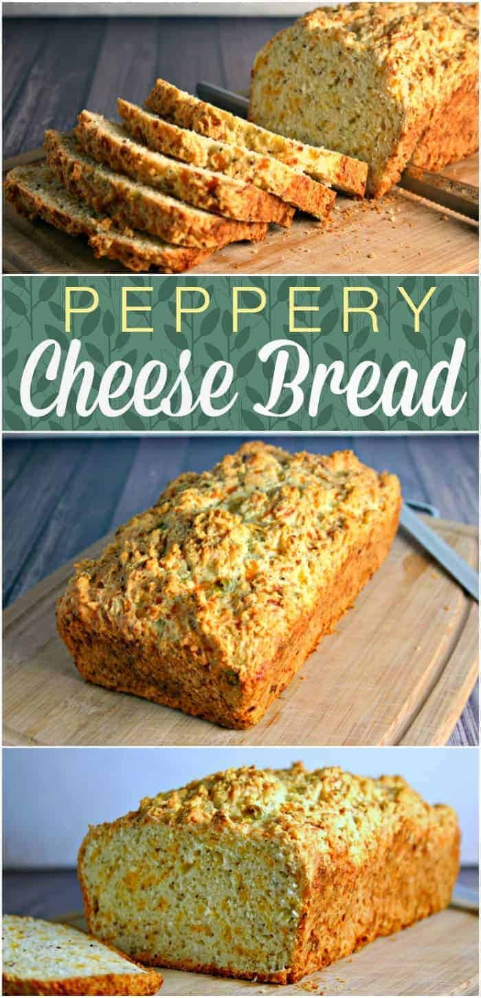 Peppery Cheese Bread | Life, Love, and Good Food