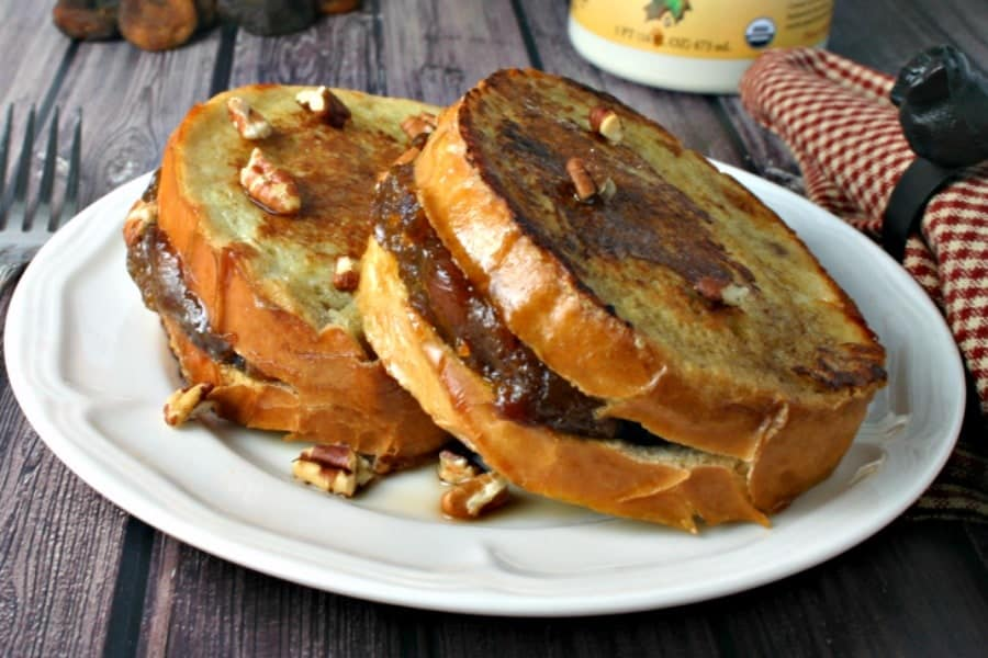 Apricot Pecan French Toast #hotforbreakfast | Life, Love, and Good Food